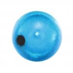 Magic / Miracle bead, 12mm, rund, türkis