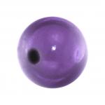 Magic / Miracle bead, 12mm, rund, lila