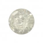 Kristallperle aus Glas, 8mm, transparent