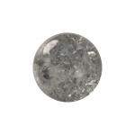 Kristallperle aus Glas, 6mm, grau