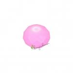 Glasschliffperle, briolette, 6X4mm, rosa