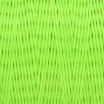 Gewachstes Band in Baumwolloptik (100cm), 1mm X 0,4mm breit, neongrün