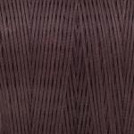 Gewachstes Band in Baumwolloptik (100cm), 1mm X 0,4mm breit, dunkelbraun