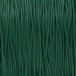 Gewachstes Schmuckband (100cm), 1mm breit, rund, dunkelgrün