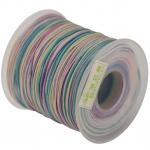 Dandelion Satinband (100cm), 1mm breit, rosa-multifarben