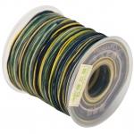 Dandelion Satinband (100cm), 1mm breit, marine-multifarben
