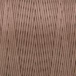 Gewachstes Band in Baumwolloptik (100cm), 1mm X 0,4mm breit, hellbraun