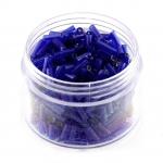 Stiftperlen, 20g, rund, 6X1,5mm, blau