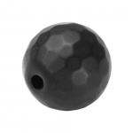 Hematit Perle, 10mm, schwarz matt