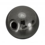 Hematit Perle, 12mm, grau