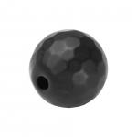 Hematit Perle, 8mm, schwarz matt