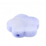 Perlmuttblüte, 16mm, hellblau-violett