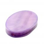 Perlmuttplättchen, 18X14mm, oval, violett