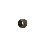 Quetschperlen (25Stück), 2,8X2mm, Metall, rund, bronzefarben