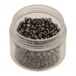 Rocailles, 20g, rund, 3mm (8/0), lila ceylon