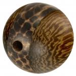 Palmwood & Madre de Cacao Wood, 20mm, rund, versch. Brauntöne