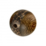 Palmwood & Madre de Cacao Wood, 8mm, rund, versch. Brauntöne