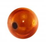 Magic / Miracle bead, 12mm, orange