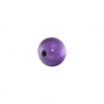 Magic / Miracle bead (10 Stück), 4mm, lila