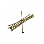 Nietstifte (100 Stück), 34X0,7mm, Stäbchen (Stiftform), bronzefarben