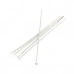 Nietstifte (100 Stück), 50X0,7mm, Stäbchen (Stiftform), silberfarben