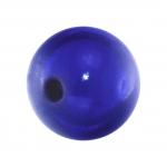 Magic / Miracle bead, 12mm, rund, royalblau