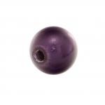 Magic / Miracle bead, 8mm, rund, lila