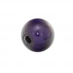 Magic / Miracle bead, 8mm, rund, dunkelviolett