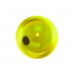 Magic / Miracle bead, 10mm, rund, gelb