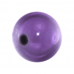 Magic / Miracle bead, 12mm, rund, lila