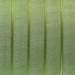 Organzaband, 100cm, 13mm breit, khaki-grün