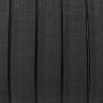 Organzaband, 100cm, 13mm breit, schwarz