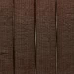 Organzaband, 100cm, 15mm breit, dunkelbraun