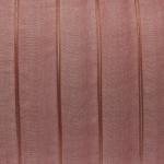 Organzaband, 100cm, 15mm breit, rot-orange kupferfarben