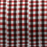 Karoband, 100cm, 15mm breit, rot