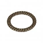 Zierring, Metall, 13mm, bronzefarben