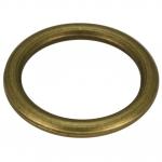 Großer Zierring, Metall, 29mm, bronzefarben