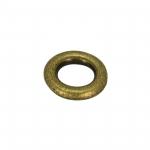 Zierring, Metall, 8mm, bronzefarben