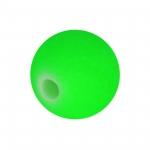 Neon-Perle, 10mm, neongrün