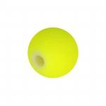 Neon-Perle, 8mm, neongelb