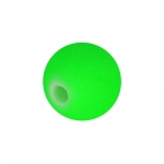 Neon-Perle, 8mm, neongrün