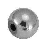 Hematite Perle, 10X10mm, Halbedelstein, silberfarben