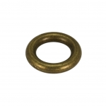 Zierring, Metall, 10mm, bronzefarben