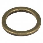 Zierring, Metall, 21mm, bronzefarben