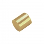 Endkappe, Loch-Ø 4mm, 5X6mm, goldfarben