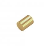 Endkappe, Loch-Ø 2mm, 3X5mm, goldfarben