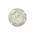 Kristallperle aus Glas, 6mm, transparent