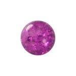 Kristallperle aus Glas, 4mm, lila farben