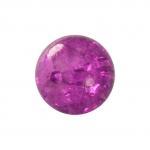 Kristallperle aus Glas, 6mm, lila farben