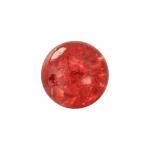 Kristallperle aus Glas, 4mm, rot